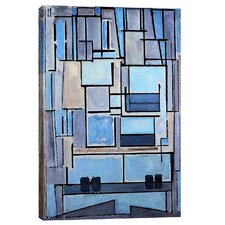 """Composition No. 9, 1914"" by Piet Mondrian Painting Print on WrappedCanvas"