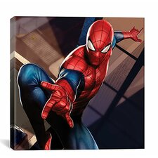 Marvel Comics Spider-Man In Action Graphic Art on Canvas