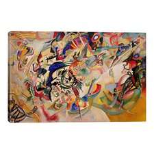 """Composition VII"" by Wassily Kandinsky Painting Print on Canvas"