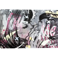 Dan Monteavaro And Only Graphic Art on Wrapped Canvas