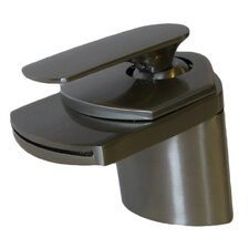 Single Lever Deck Mount Waterfall Faucet