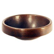 Granada Copper Drop-In Bathroom Sink