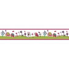 "Animal Sanctuary Medium Roll 5' x 10.6"" Wildlife Border Wallpaper"