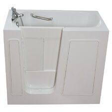 Small Long Whirlpool Walk-In Tub