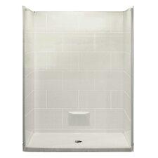 Plus 36 5 Piece Rectangular Shower Kit