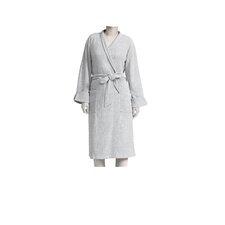 Heathered Rayon Blend Wrap Robe