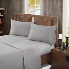 150 Thread Count 100% Cotton Solid Flannel Sheet Set