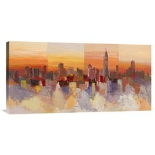 'Sognando New York' by Luigi Florio Painting Print on Canvas
