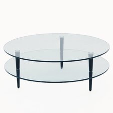 Saturn Coffee Table with Wooden Legs