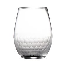 Daphne Stemless 14 Oz. Wine Glass (Set of 4)