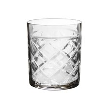 Tufted Crystal Old Fashion Glass (Set of 4)