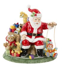 Santa's Toy Shop Musical Figurine with Toyland