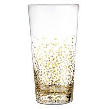 Gold Luster 18.6 oz. Highball Glass (Set of 4)