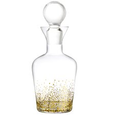 Gold Luster 32 Oz. Decanter