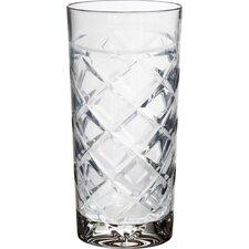 Tufted Crystal Highball Glass (Set of 4)