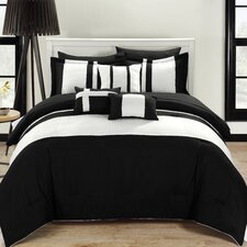 Fiesta 10 Piece Bed-in-a-Bag Comforter Set