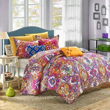 Mumbai 8 Piece Reversible Comforter Set