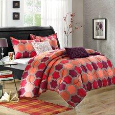 Tripoli 5 Piece Reversible Comforter Set