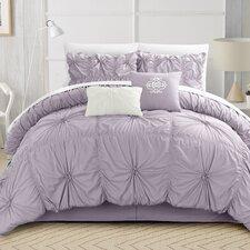 Halpert Floral Pinch Comforter Set