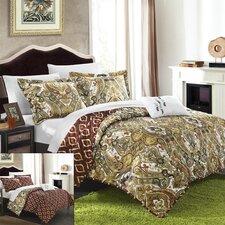 Paisley Global Inspired Vedara Reversible Quilt Set