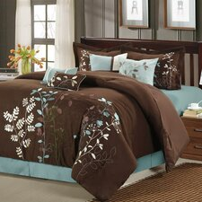 Bliss Garden 8 Piece Comforter Set