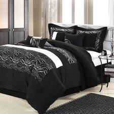 Zebra 8 Piece Comforter Set