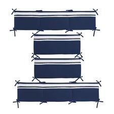 Connor Solid Reversible Crib Bumper