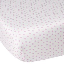 Audrey Dottie Fitted Crib Sheet
