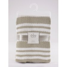 Voile Separates Chenille Stripe Knitted Blanket