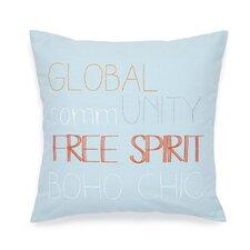 Adventurer Free Spirit Decorative Cotton Throw Pillow