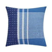 Shibori Chic Cotton Throw Pillow