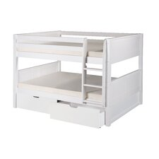 Camaflexi Full Bunk Bed with Drawers