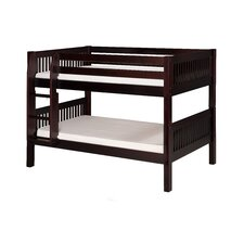 Low Bunk Bed with Mission Headboard