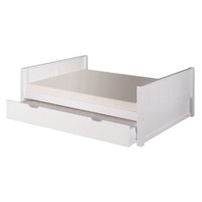 Camaflexi Full Platform Bed with Twin Trundle
