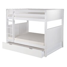 Traditional Camaflexi Full over Full Bunk Bed with Trundle