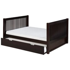 Camaflexi Full Platform Bed with Trundle