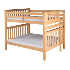 Santa Fe Mission Tall Bunk Bed with Bed End Ladder