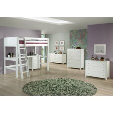 Twin Loft Bed Customizable Bedroom Set