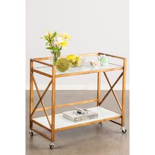 Mia Bar Serving Cart