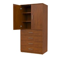 Mobile CaseGoods 2 Door Storage Cabinet