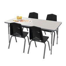 5 Piece Rectangular Activity Table & Chair Set