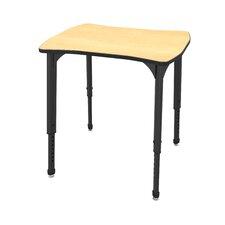 Apex Series Melamine Adjustable Height Standard Desk