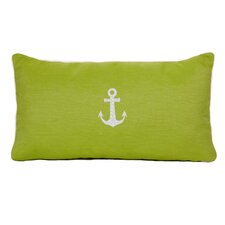 Anchor Beach Outdoor Sunbrella Lumbar Pillow