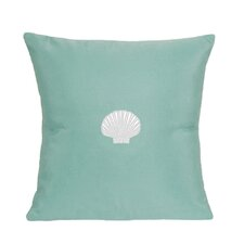 Scallop Indoor/Outdoor Sunbrella Throw Pillow