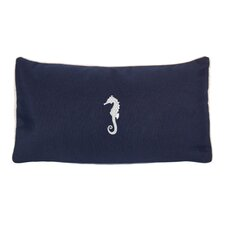 Seahorse Beach Outdoor Sunbrella Lumbar Pillow