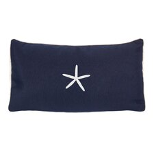 Starfish Beach Sunbrella Lumbar Pillow