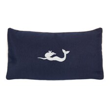 Mermaid Beach Sunbrellar Outdoor Lumbar Pillow
