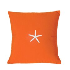 Starfish Sunbrella Throw Pillow