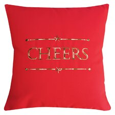 Holiday Cheers Indoor/Outdoor Sunbrella Throw Pillow