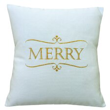 Holiday Merry Indoor/Outdoor Sunbrella Throw Pillow